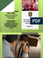 Violencia Contra Los Niños, Niñas y Adolescentes