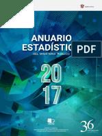 Anuario Estadistico Mpfn 2017