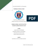 Bioquimica - Analisis de Lípidos