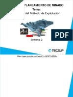 SEMANA 2 - Selección del método de explotación.pptx