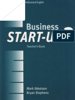 start up business - apostila de ingles
