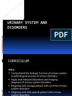 Urinary System and Disorders Introduction