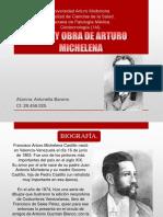Vida y Obra de Arturo Michelena