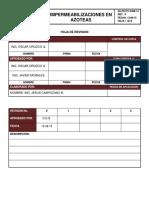 Pcciv-sam-12 Impermeabilizacion en Azoteas