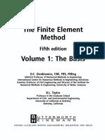 Zienkiewicz O.C., Taylor R.L. Vol. 1. the Finite Element Method. the Basis