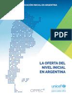 La Oferta Del Nivel Inicial en Argentina