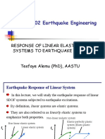 T2. Linear Elastic System Response