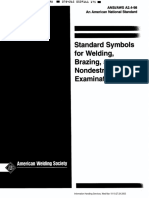 ANSI-AWS A2.4 - 1998 - Standard Symbols for Welding Brazing and Nondestructive Examination
