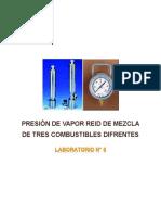Guia de Laboratorio - Presion de Vapor Reid Blend