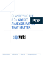 Quantifying the 5 Cs