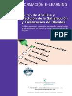 Curso de Analisis y Medicion de La Satisfaccion y Fidelizacion de Clientes 1