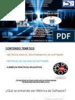Métricas de Calidad y Mantenimiento de Software 2019