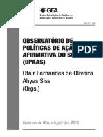 Cadernos Do Gea n8 Opaas