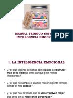 3º 4º Eso. Manual Teórico Sobre La Inteligencia Emocional