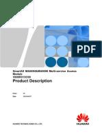 MA5694 & MA5698 V800R313C00 Product Description