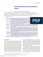 Incidence of Overwork-related Mental Disorders