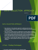 Data Collection Approach