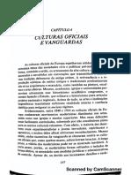 MAYER, Arno. Culturas Oficiais e Vanguardas. in- ___ a Força Da Tradição. São Paulo- CIA. Das Letras, 1987. (1)