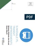 Midvale Transit Improvements Mailer