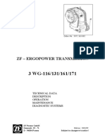 Manual Trans.zf.3 WG116-131-161-171 Tech Data-Maintenance 5872 363 002