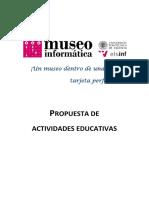 Actividades Educativas Del Museo de Informática