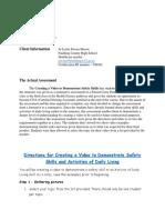 assessment plan part 2