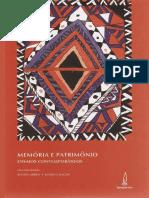 Páginas de Memória e Patrimônio_ensaios Contemporâneos