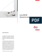 Leica DM100 UserManual ES