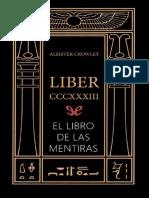Aleister Crowley - El Libro de las mentiras.pdf