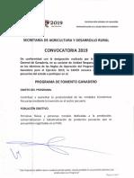 Programa de Fomento Ganadero Guerrero 2019