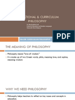 Unit 2 Branches of Philosophy