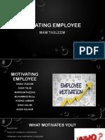 Motivating Employee