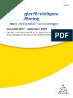Skatteregler for Delagare