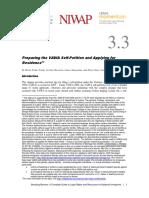 11. Appendix X BB CHP Self-Petitioning