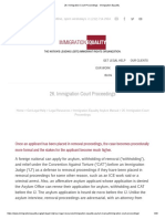 26. Immigration Court Proceedings - Immigration Equality