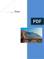 Energia solar conceito