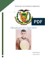 Eduardo Toapaxi Liderazgo