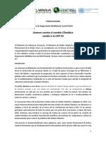 Convocatoria Foro de Negociación Multilateral Juvenil 2019 Final