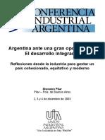 Argentina desarrollo integral