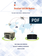 CTECH Jamming Resistant SATCOM Modem
