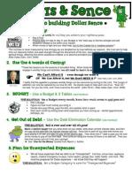 Financial Preparedness.5 simple Steps