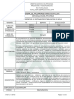 Programa Tec en Operacion Agua Version 100