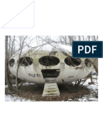 Abandoned Late 60's Futuro House (Designed by Finn Matti Suuronen)
