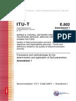00-Amendment 1 to ITU-T Rec. E.802-1 (Highlighted)