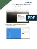 Guia Implementacion MFA Office365