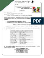 LISTA DE EXERCÍCIOS Nº 16.doc
