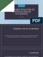 Taller Metodología de Investigación de Accidentes