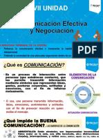Comunicación Efectiva y Negociación