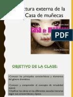 Estructura externa de la obra Casa de Muñecas.ppt