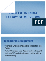 English in India Today